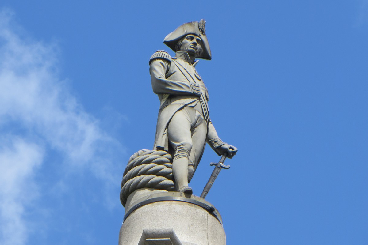 amiral nelson trafalgar square