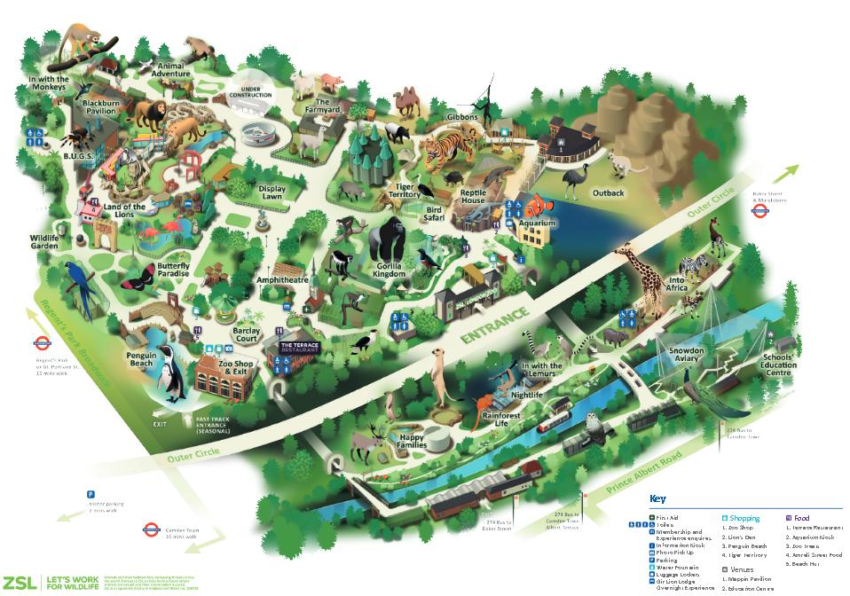 plan zoo londres