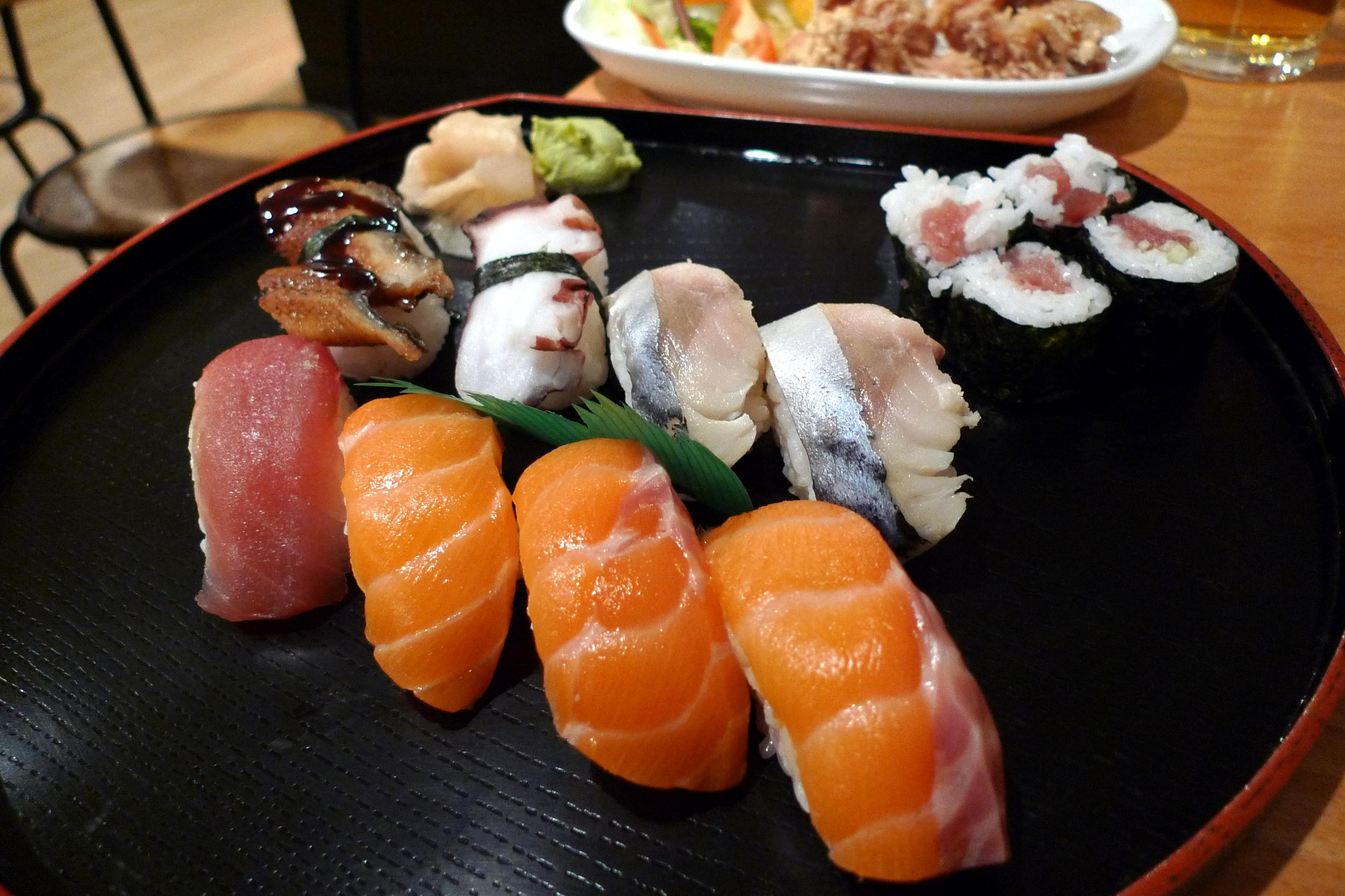 sushi londres