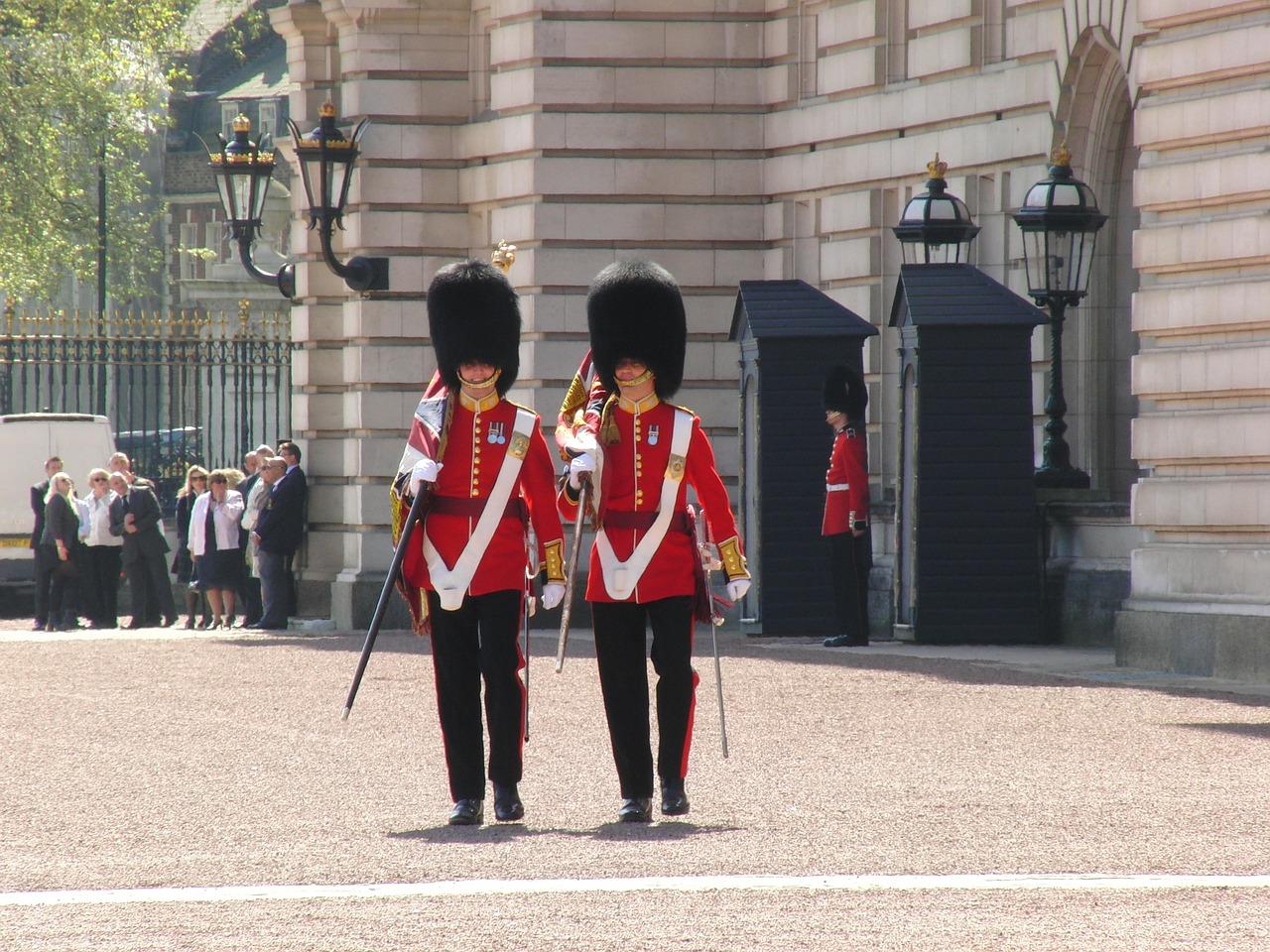 garde buckingham palace