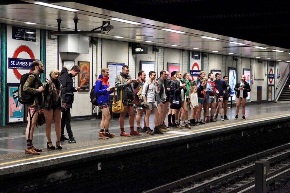 no pants metro londres
