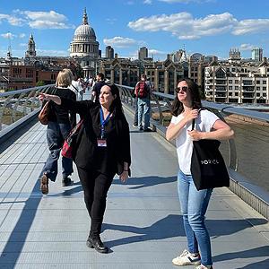 Sophie Visite Londres