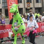Le marathon à Londres.
