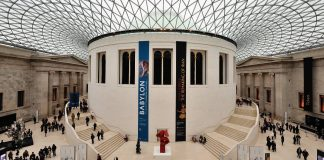 British Museum Dome Londres