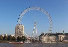 london eye londres