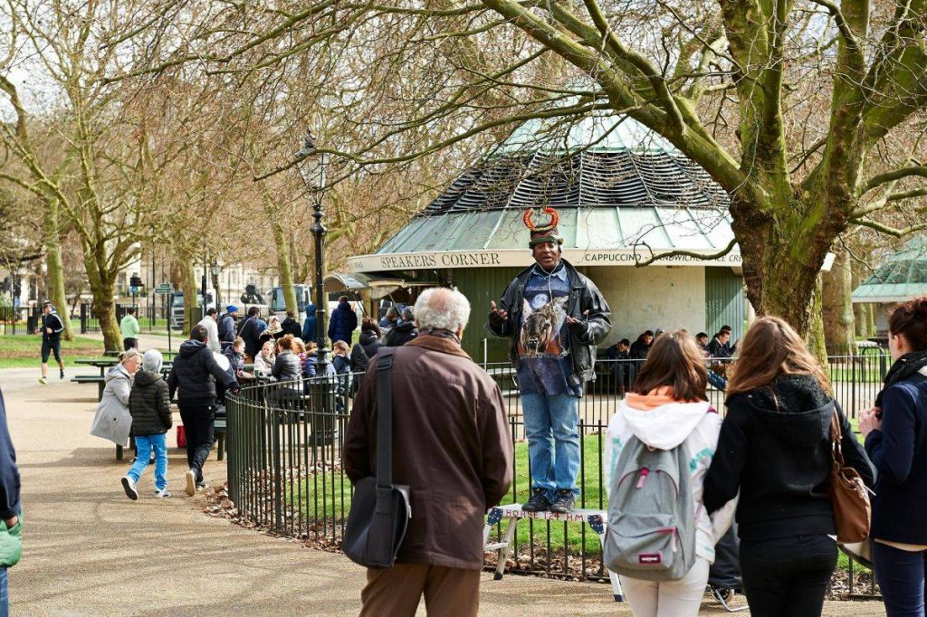 speakers corner londres