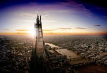 the view from the shard londres
