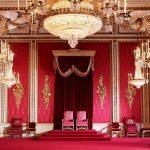 buckingham palace trone