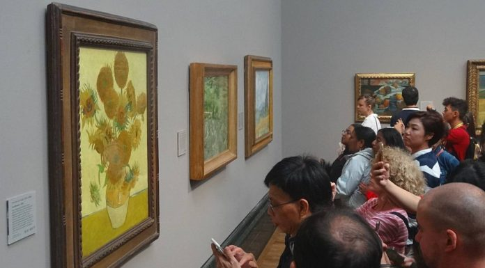 national gallery tournesols