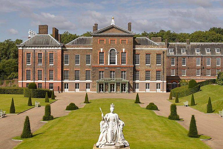 Le palais de Kensington, l'ancienne résidence de Lady Di