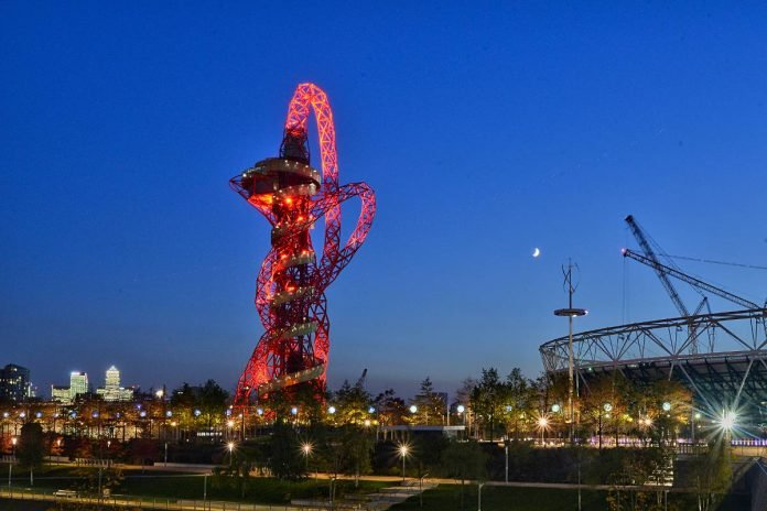 tour arcelor mittal orbit londres