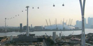 telepherique emirates air line londres