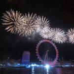 feu artifices nouvel an londres 2