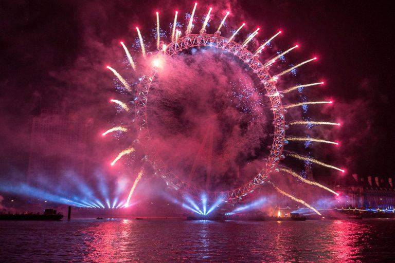 Comment assister au feu d'artifices du Nouvel an à Londres ?