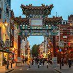 porte de Chinatown à Londres