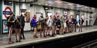 no pants metro londres