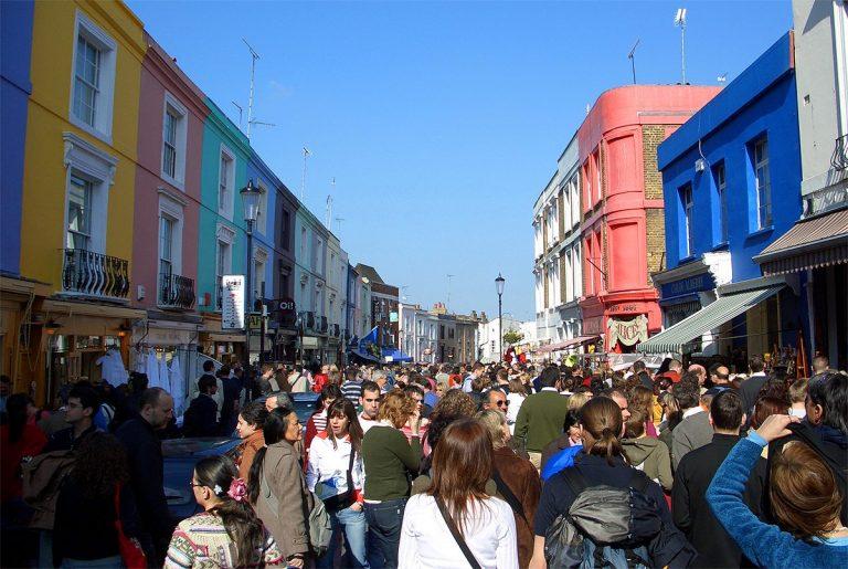 Portobello Road Market, le grand marché de la brocante à Londres