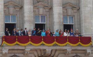 anniversaire reine londres balcon